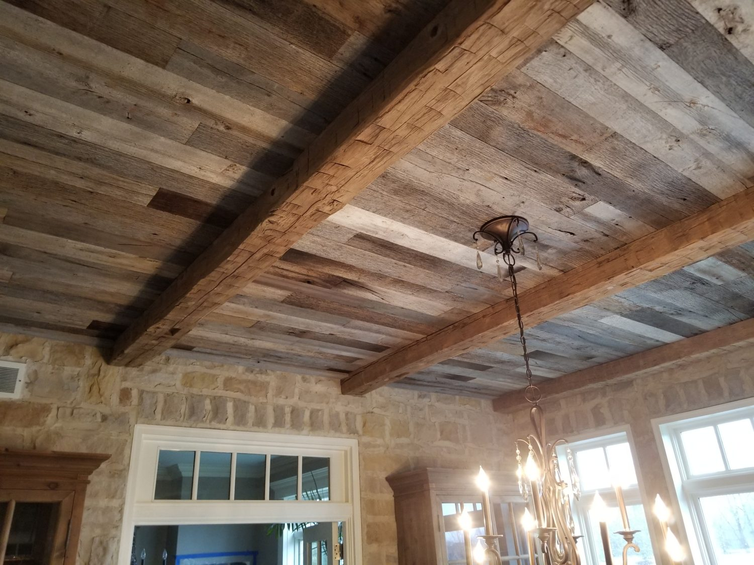 Ceiling Beams Ohio Valley Reclaimed Wood