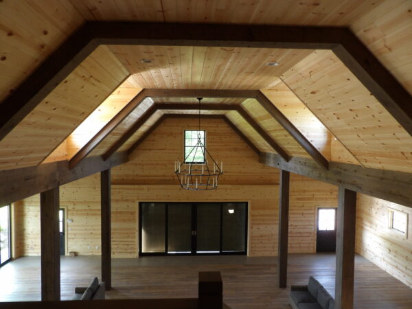 Custom Faux Beams